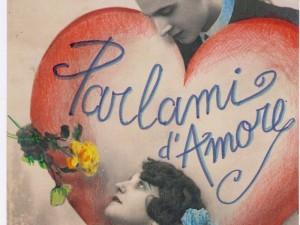 parlami d'amore MOSTRA DI CARTOLINE D'AMORE